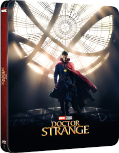 Doctor Strange 3D (Inklusive 2D) - Zavvi UK Exklusives Lenticular Edition Steelbook
