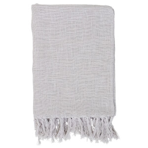 Bloomingville Cotton Throw - Grey
