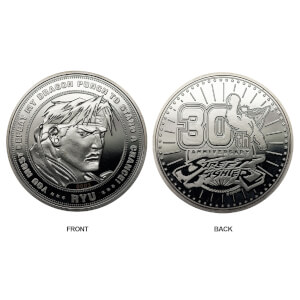 Limited Edition Street Fighter Coin - Silver Edition