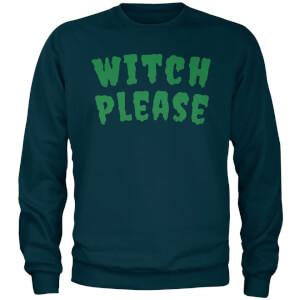 Sweat Homme Witch Please - Bleu Marine