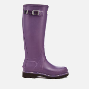 Hunter Women's Balmoral Poly-Lined Wellies - Dark Iris
