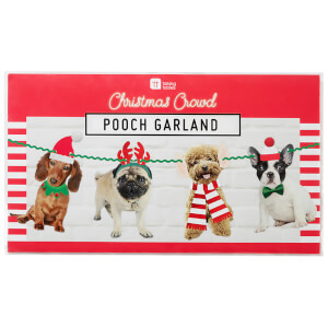 Christmas Festive Pooch Garland Decoration