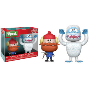 Yukon Cornelius and Bumble Funko Vynl.