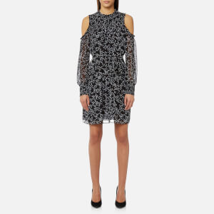 MICHAEL MICHAEL KORS Women's Shooting Star Smock Dress - Black/White