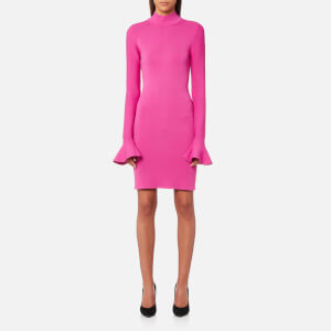 MICHAEL MICHAEL KORS Women's Bell Sleeve Dress - Ultra Pink