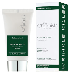 Mascarilla antienvejecimiento Venom de skinChemists London 50 ml