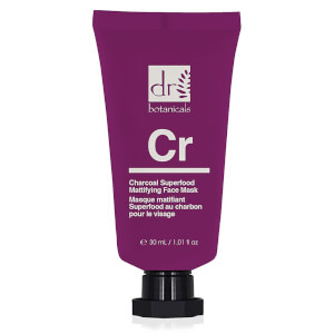 Dr Botanicals Apothecary Charcoal Superfood Mattifying Face Mask 50ml