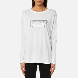 Barbour International Women's Mallory Logo T-Shirt - White