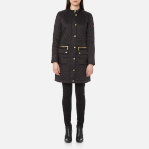 Barbour International Women's Port Gower Quilt Jacket - Black