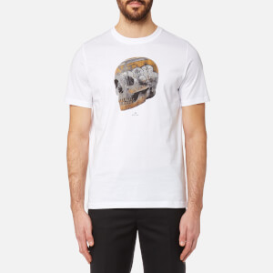 PS by Paul Smith Men's Skull Print T-Shirt - White