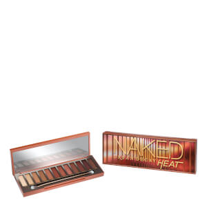 Paleta Urban Decay Naked Heat Palette