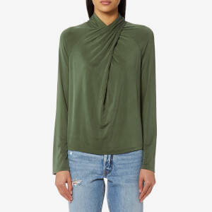 Samsoe & Samsoe Women's Norah Long Sleeve Top - Thyme