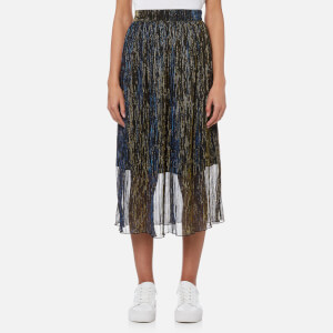 Samsoe & Samsoe Women's Paris Skirt - Gold Blue