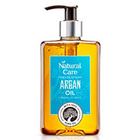 Natural Care Fine Liquid Soap Almond Oil/Olive Oil/Verbena Oil/Argan Oil