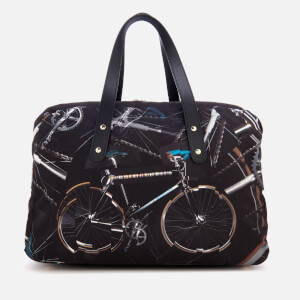 Paul Smith Men's Bicycle Print 24 Hour Bag - Multi