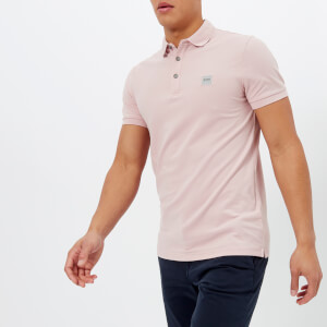 BOSS Orange Men's Passenger Polo Shirt - Pink