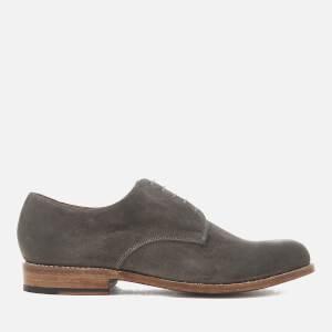 Grenson Men's Finlay Burnished Suede Derby Shoes - Bronze