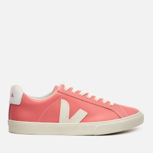 Veja Women's Esplar Leather Low Trainers - Blush Pierre