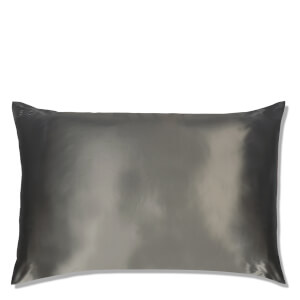 Slip Silk Pillowcase - Queen - Charcoal