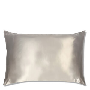 Slip Silk Pillowcase - Queen - Silver