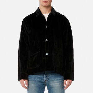 Our Legacy Men's Box Archive Metal Jacket - Black Velvet