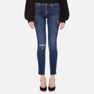 J Brand Women's 811 Mid Rise Skinny Jeans - Swift Destruct