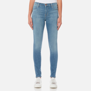J Brand Women's Maria High Rise Skinny Jeans - Influential