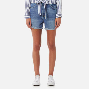 J Brand Women's Joan High Rise Short Jeans - Mimic