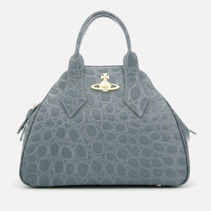 Vivienne Westwood Women's Medium Yasmine Tote Bag - Light Blue