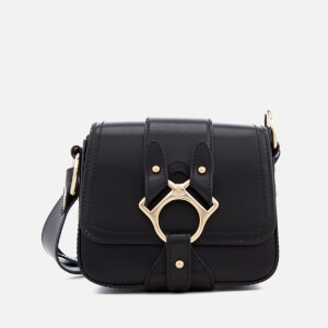 Vivienne Westwood Women's Folly Small Saddle Bag - Black