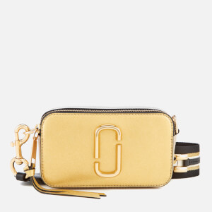 Marc Jacobs Women's Metallic Snapshot Bag - Gold