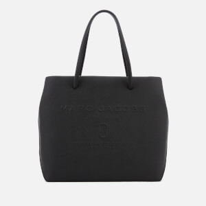 Marc Jacobs Women's Logo Shopper East West Tote Bag - Black