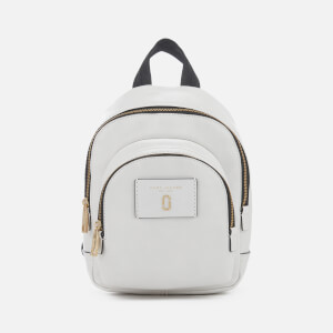 Marc Jacobs Women's Mini Double Pack Backpack - White Glow