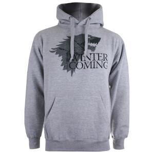 Game of Thrones Men's Winter is Coming P/O Hoody - Grey Heather