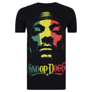 Snoop Dogg Men's Rasta T-Shirt - Black