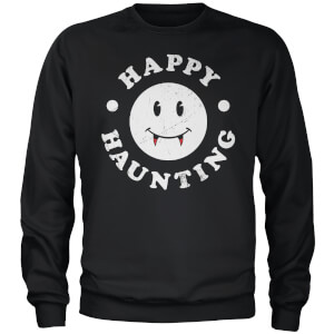 Happy Haunting Black Sweatshirt MGB Exclusive