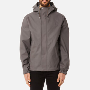 Hunter Men's Original Rubberised Bomber Jacket - Storm