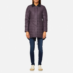 Hunter Women's Original Refined Short Down Coat - Purple Urchin
