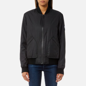 Hunter Women's Original Insulated Bomber Jacket - Black