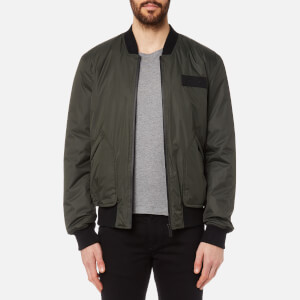 Hunter Men's Original Insulated Bomber Jacket - Dark Olive