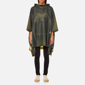 Hunter Original Clear Poncho - Dark Olive