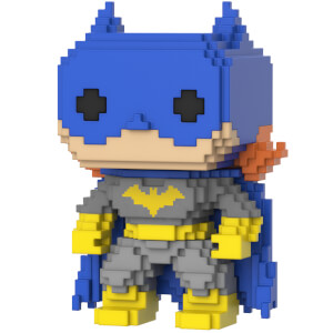 Figurine Pop! Batgirl (Bleue) - DC Classic 8 Bit