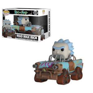 Rick and Morty Mad Max Rick Pop! Vinyl Ride: Image 2