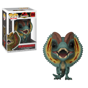 Figurine Pop! Dilophosaure - Jurassic Park