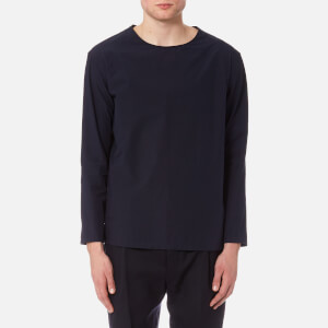 Lemaire Men's Long Sleeved T-Shirt - Midnight Blue