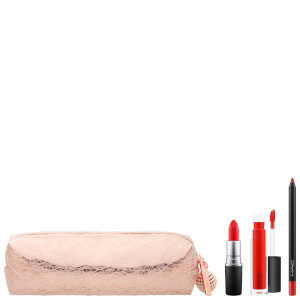 MAC SNOW BALL LIP BAG - RED