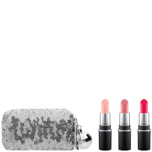KIT MINI BARRAS DE LABIOS MAC SNOW BALL MINI LIPSTICK KIT – PINK