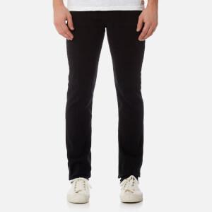 7 For All Mankind Men's Slimmy Denim Jeans - Plus Rinse Black