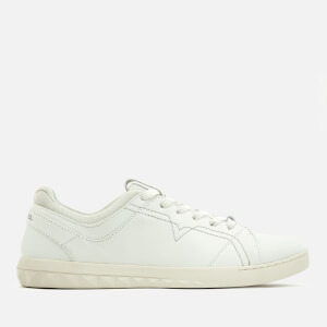 Diesel Men's S-Studdzy Lace Leather Low Top Trainers - White