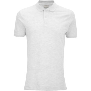 Polo Homme Originals New Per Jack & Jones - Blanc Chiné